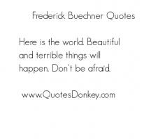 Frederick Buechner's quote #4