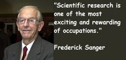 Frederick Sanger's quote #7