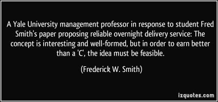 Frederick W. Smith's quote #3