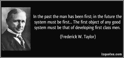 """Résultat de recherche d'images pour """"Frederick Taylor quotes"""""""