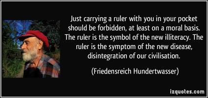 Friedensreich Hundertwasser's quote #2