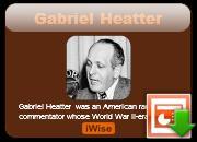 Gabriel Heatter's quote #1