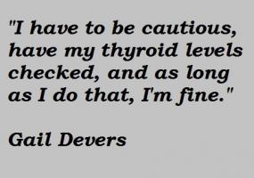 Gail Devers's quote