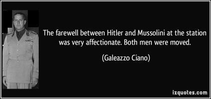 Galeazzo Ciano's quote