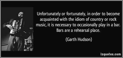Garth Hudson's quote #3