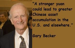 Gary Becker's quote