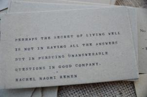 Gathered quote #2