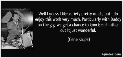 Gene Krupa's quote #2