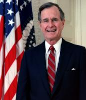 George H. W. Bush profile photo