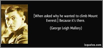 George Leigh Mallory's quote #4