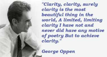 George Oppen's quote #4