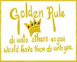 Golden Rule quote #2