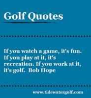 Golf Courses quote #2