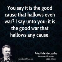 Good Cause quote #2