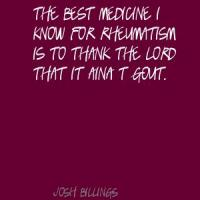 Gout quote #2