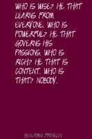 Governs quote #1