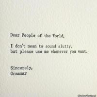 Grammar quote #5