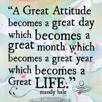 Great Attitude quote #2