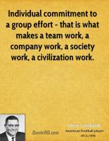 Group Effort quote #2