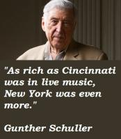 Gunther Schuller's quote
