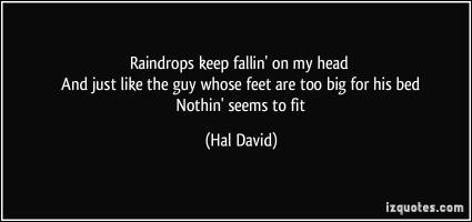 Hal David's quote #3