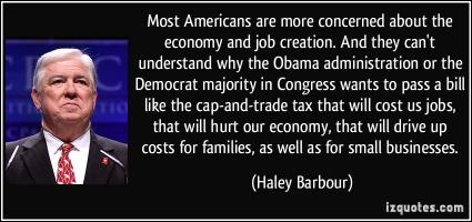 Haley Barbour's quote