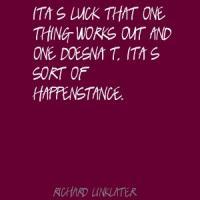 Happenstance quote #2