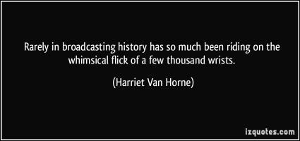 Harriet Van Horne's quote #2