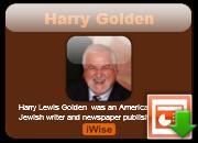 Harry Golden's quote
