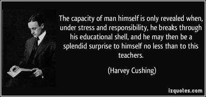 Harvey Cushing's quote
