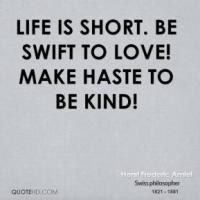 Haste quote #5
