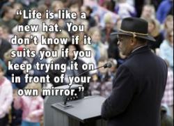 Hats quote