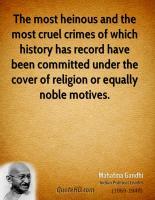Heinous quote #2