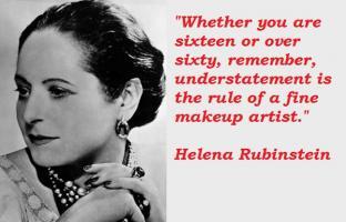 Helena Rubinstein's quote