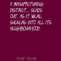 Henry Hallam's quote