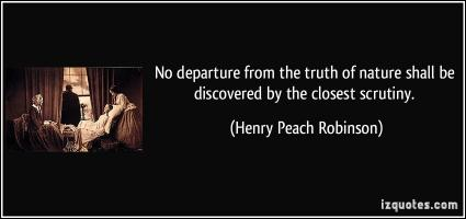 Henry Peach Robinson's quote
