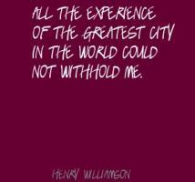 Henry Williamson's quote #3