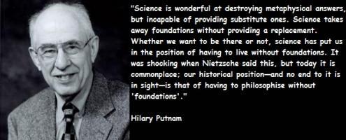 Hilary Putnam's quote