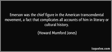 Howard Mumford Jones's quote