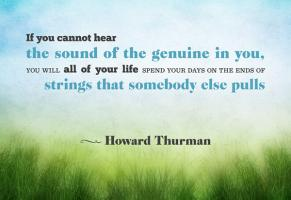 Howard Thurman's quote