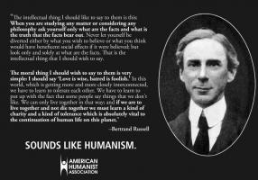 Humanistic quote #1