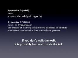 Hypocrites quote #1