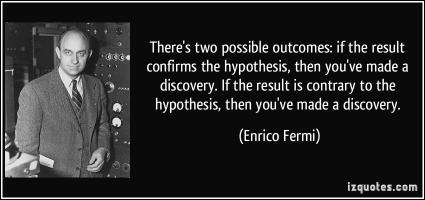 Hypothesis quote #2