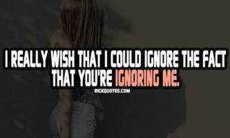 Ignoring quote #5