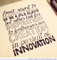 Imitations quote #1