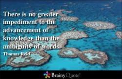 Impediment quote #1