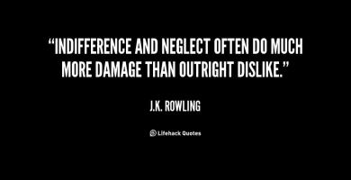 Indifference quote #2