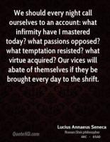 Infirmity quote #2