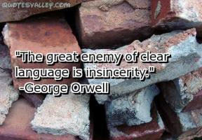 Insincerity quote