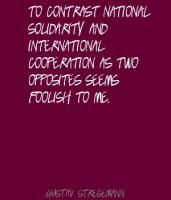 International Cooperation quote #2